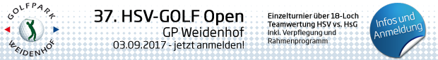 37. HSV-GOLF Open am 03.09.17 im GP Weidenhof